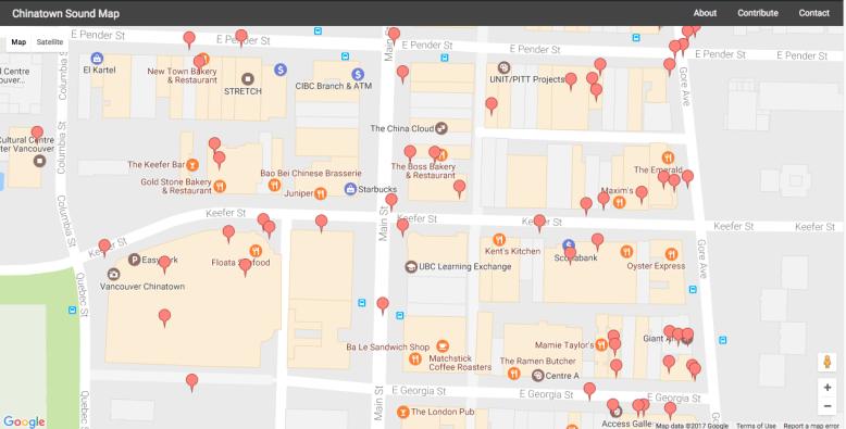 Chinatown Sound Map